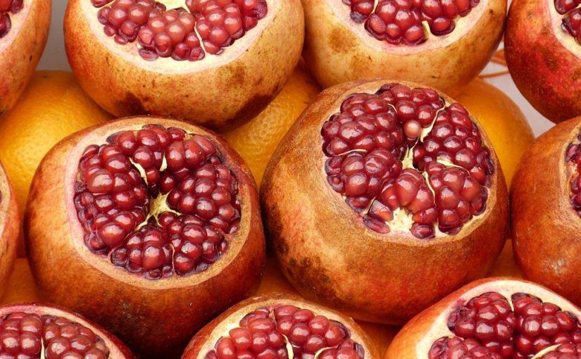 Der Granatapfel ist gesund